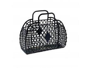 Black retro basket