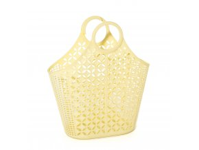 Yellow Atomic tote