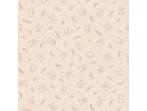 H0427 Koala pink 50x40