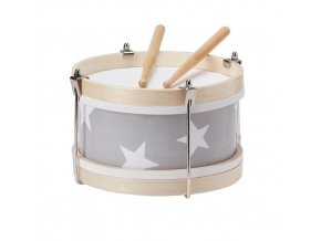 Star Grey Wooden Toy Drum 500x