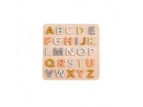 Kids Concept Dřevěné puzzle abeceda
