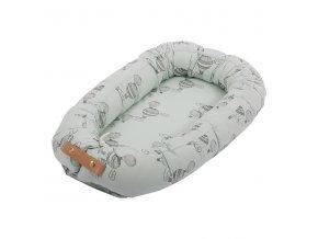 Útulné hnízdo Filibabba - Airballoon Light Mint