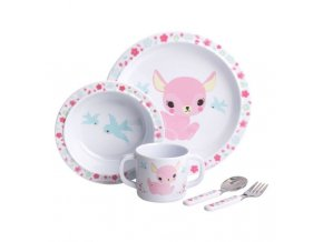 melamine set deer
