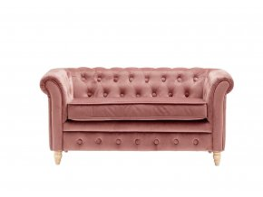 1000209 Chesterfield Sofa Velvet Apricot preview
