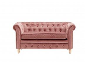 1000209 Chesterfield Sofa Velvet Apricot preview