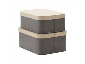 1000232 Storage Box 2 set Grey