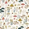 Lilipinso Tapeta vliesová Mushrooms 0,5 x 10 m