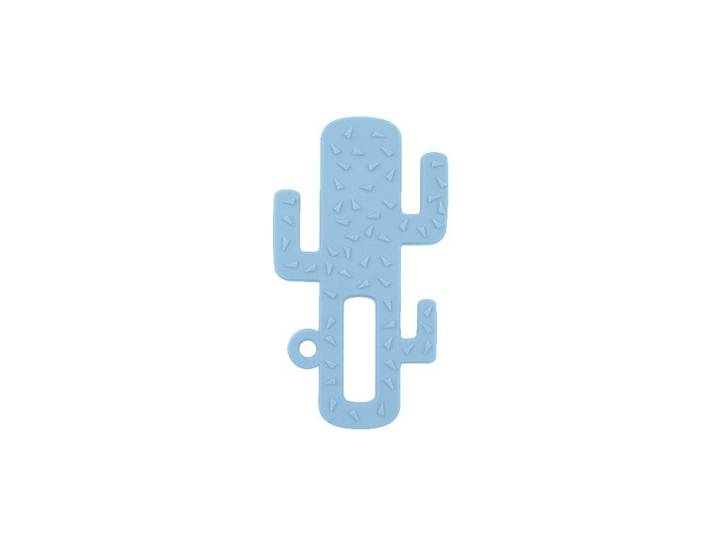 Hryzadlo silikónové kaktus modré