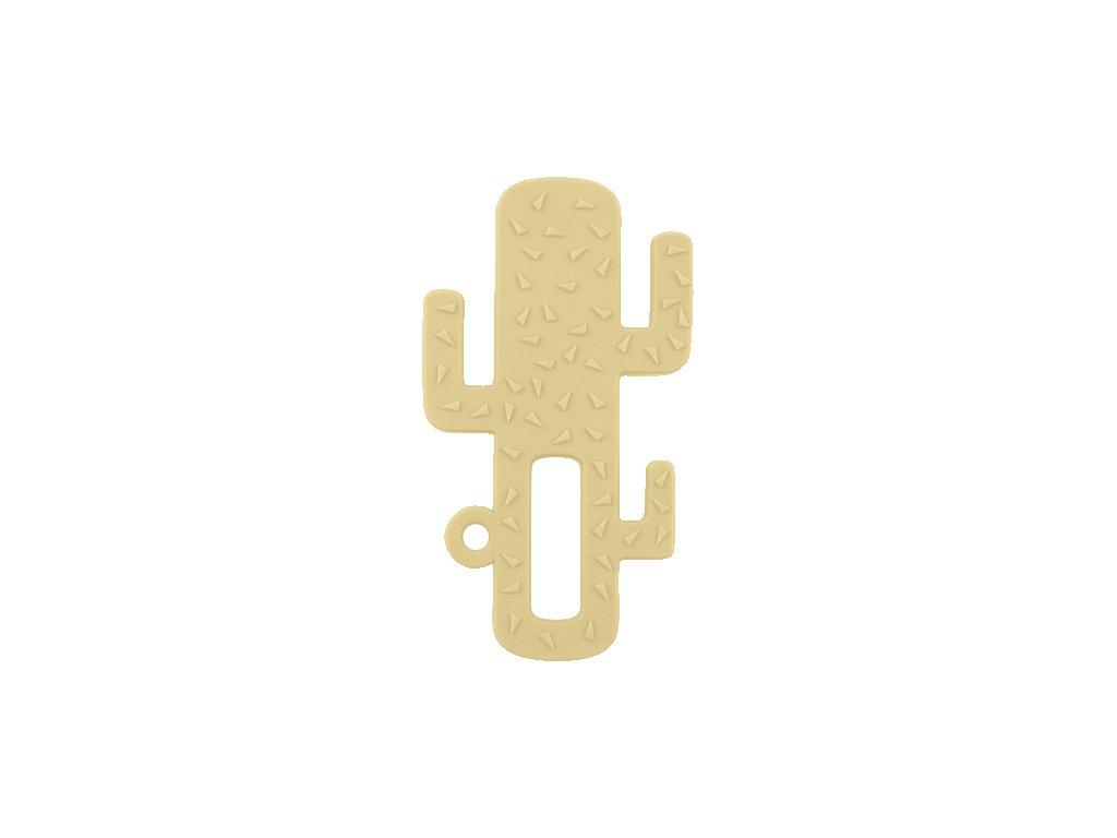 Hryzadlo silikónové kaktus žlté