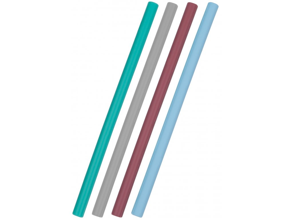 Minikoioi silikónová slamka s kefkou 4 ks pre chlapcov