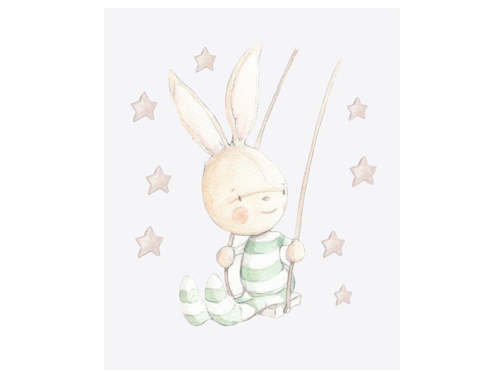 Zajačik na hojdačke