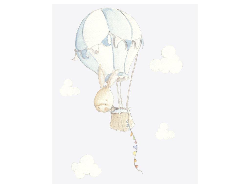 Zajačik v balóne