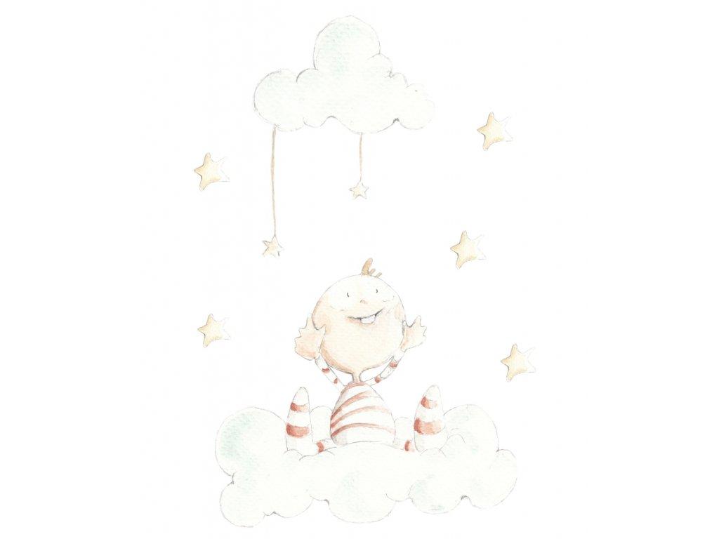 Dieťa s hviezdičkami