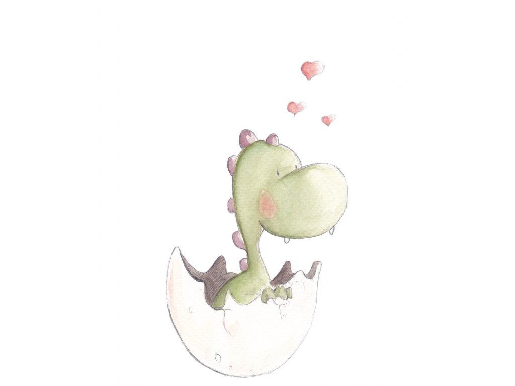 Nálepka Baby Dino