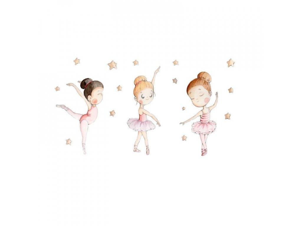 nálepka baletky