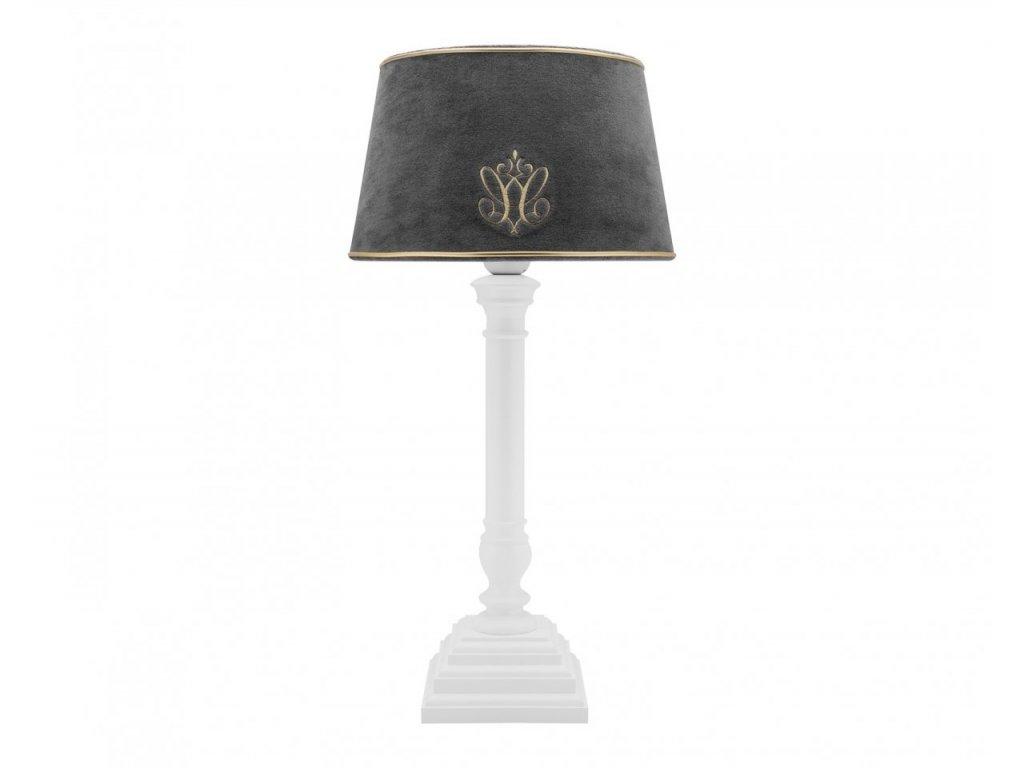 Caramella Anthracite Gloss stolní lampa