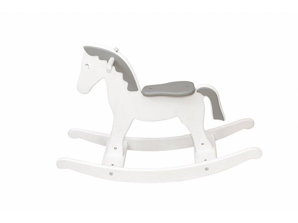 Caramella dřevěný houpací koník šedý