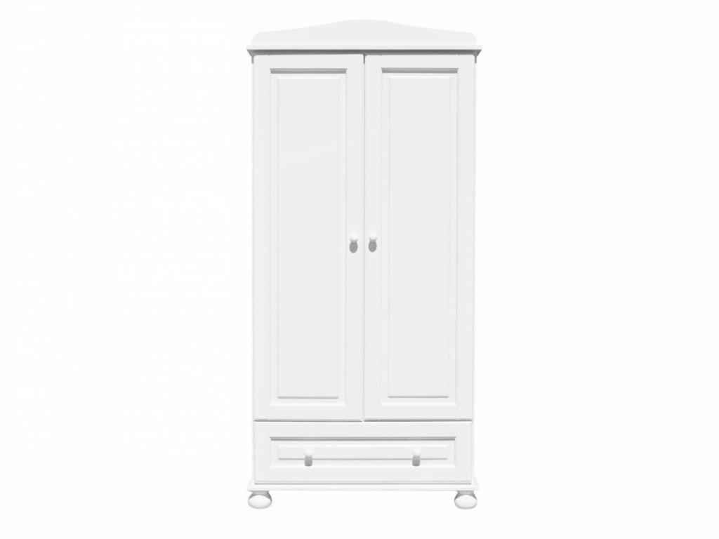 Caramella Romantic dvoudveřová skříň