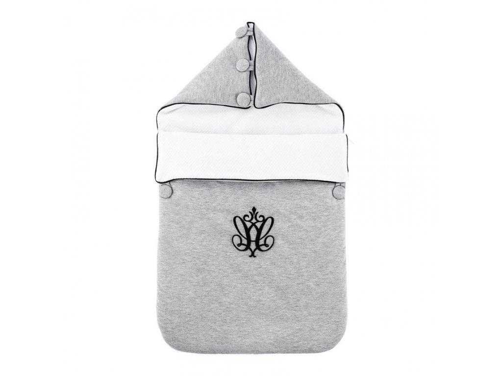 Caramella Manhattan peřinka pro miminko šedá