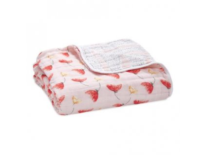 Aden & Anais bavlněná deka do postýlky Picked for you
