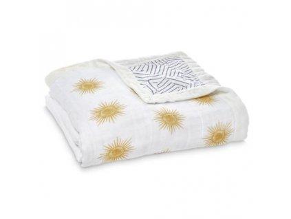 Aden & Anais bambusová deka pre deti Golden Sun