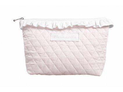 Caramella Baby Pink kosmetická taška růžová
