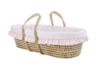 Caramella Golden Chic Mojžíšův košík růžový