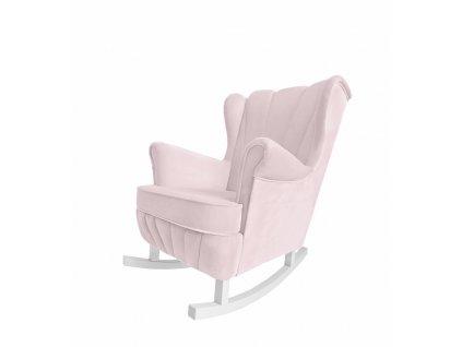 Caramella Baby Pink houpací křeslo Shell na krmení