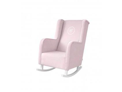 mella Baby Pink houpací křeslo růžové