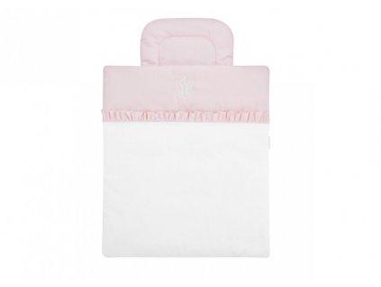Caramella Baby Pink mini povlečení s výplní růžové