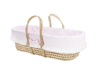 Caramella Baby Pink mojžíšův košík růžový