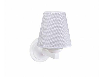 Caramella Pure Grey nástěnná lampa šedá