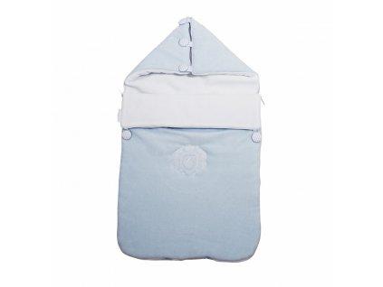Caramella Baby Blue peřinka pro miminko modrá