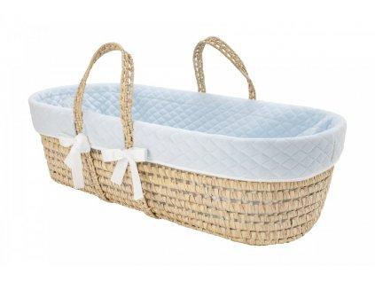 Caramella Baby Blue mojžíšův košík modrý