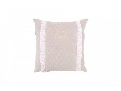Caramella Pastel Chic malý dekorační polštář béžový
