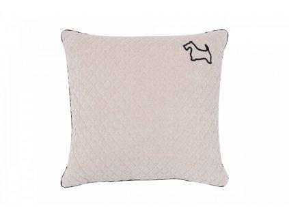 Caramella Doggy velký dekorační polštář béžový