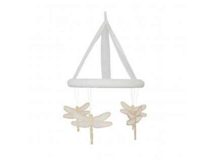 Caramella Ivory Mist dětský kolotoč s vážkami