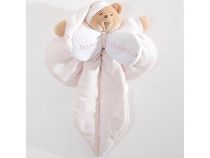 Nanán dekorační mašle na dveře Puccio růžová