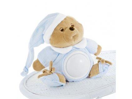 Nanán dětské noční světélko medvídek Puccio modrý