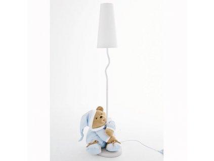 Nanán Puccio modrá stojací lampa