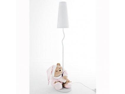Nanán Puccio růžová stojací lampa