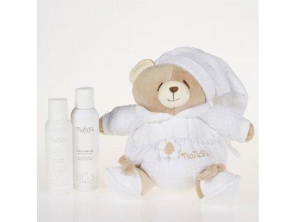 Nanán medvídek Tato s dětskou kosmetikou