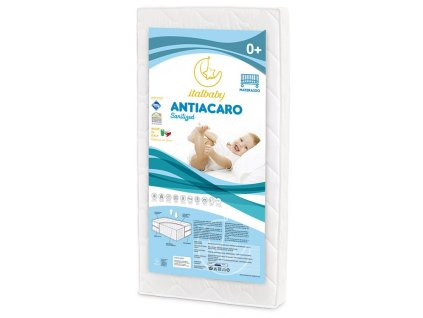 Italbaby dětská matrace Antiacaro 70x140cm
