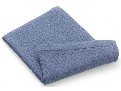 Italbaby letní deka do postýlky Muslin modrá