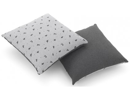Italbaby dekorační polštář Jurassic šedý
