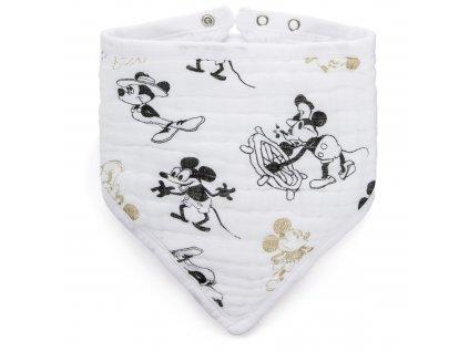 Aden & Anais dětský slintáčik Mickeys 90th