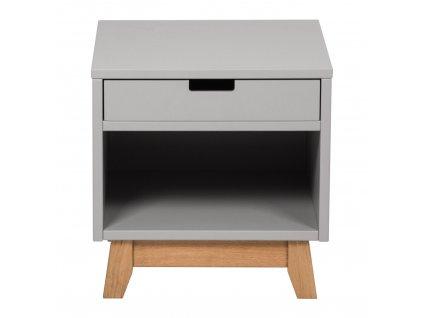 Quax noční stolek Trendy šedý