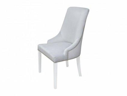Caramella Hampton čalouněná židle šedá