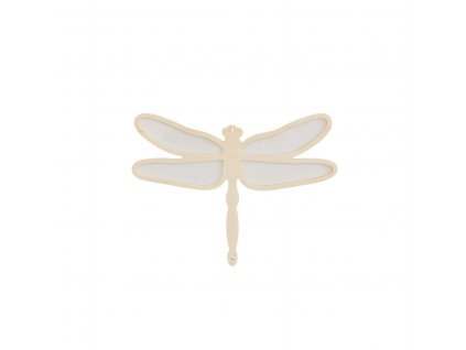 Caramella Ivory Mist velká dekorativní vážka