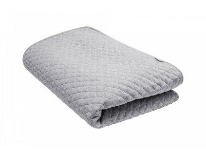 Caramella Manhattan přehoz na postel šedý